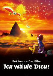 German Pokemon Movie 20 Poster - The fixed Version