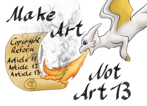 Make Art, Not Art13