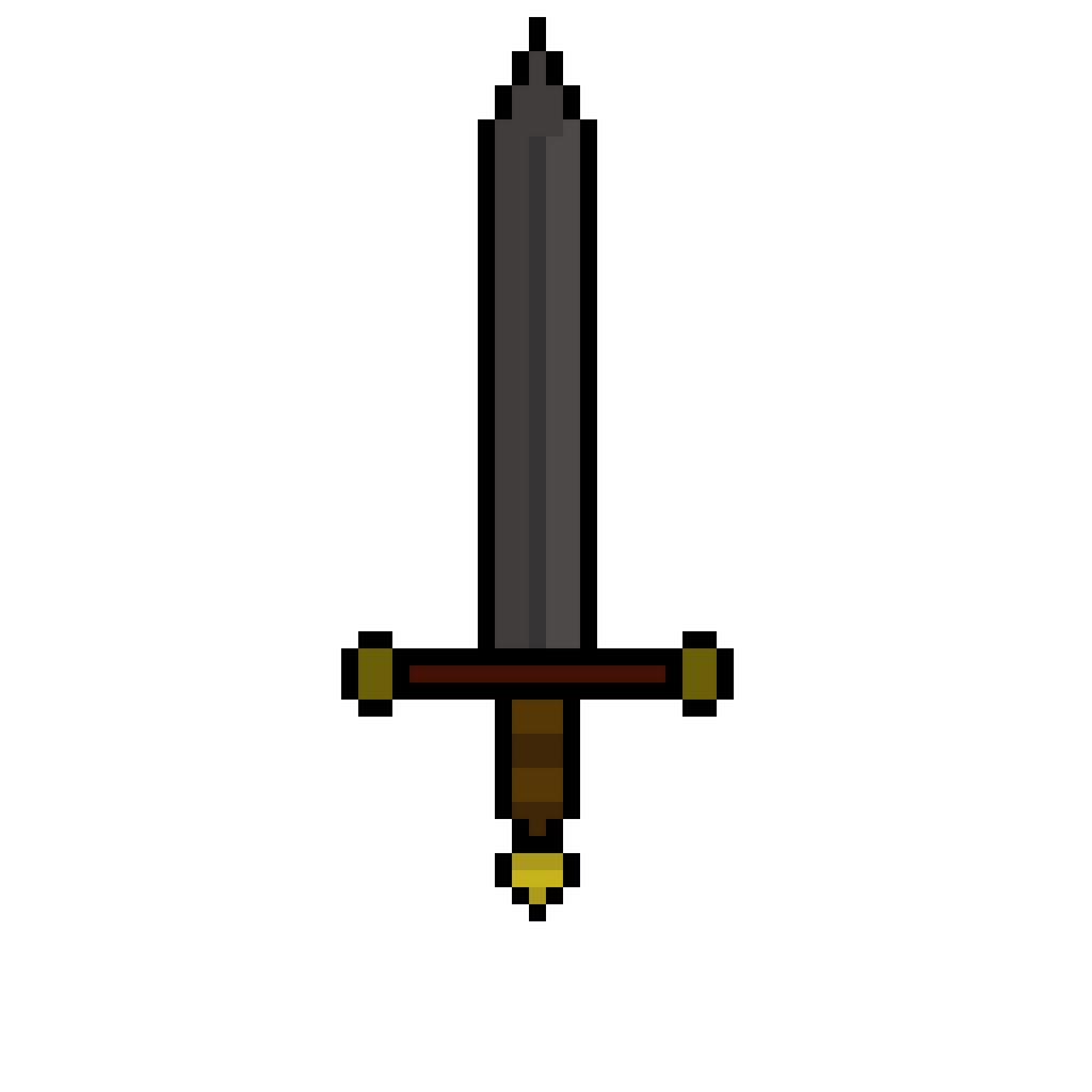 Basic Pixel Sword By Dr-Morgan47 On DeviantArt
