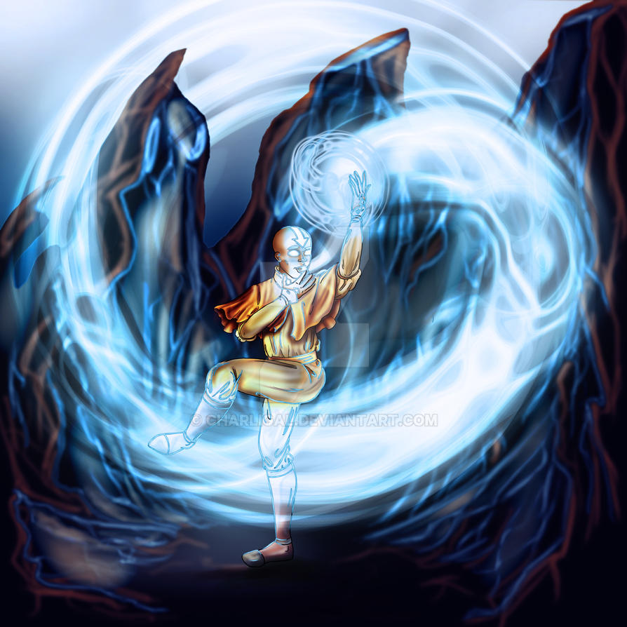 Avatar Aang Drawings: The Last Airbender By Charligal On DeviantArt
