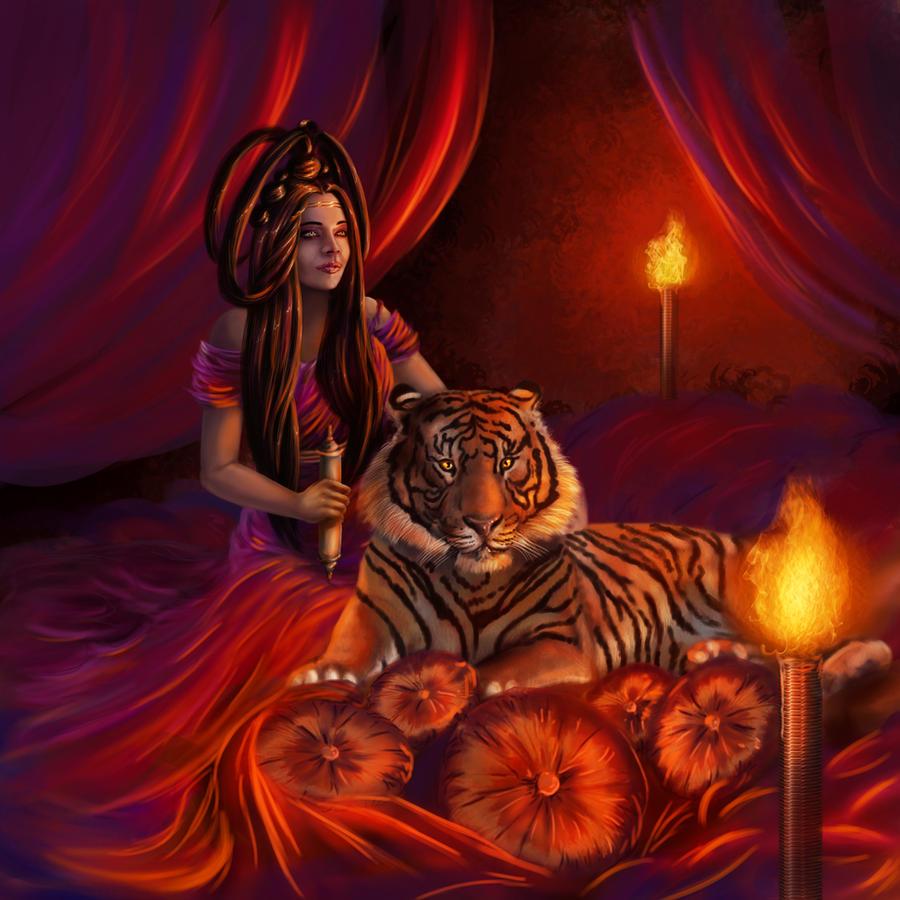 Tigris Magicka by charligal