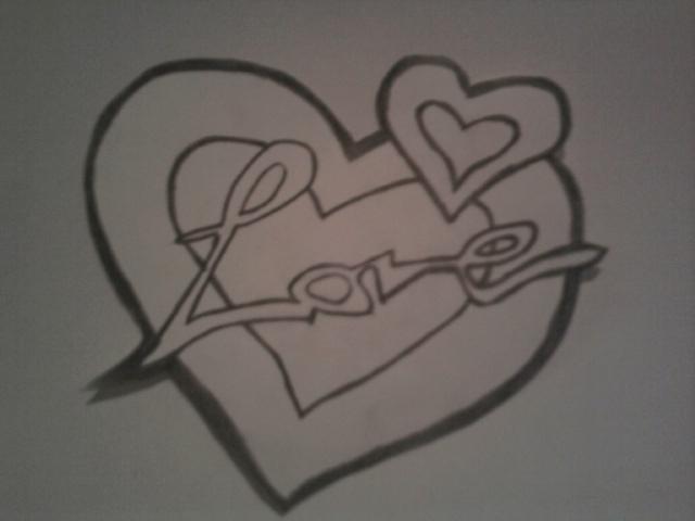 Random drawing: Love by Tiwz on DeviantArt