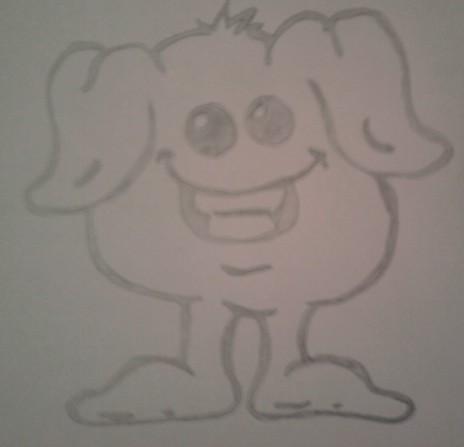 Random drawing cute creature by tiwz on deviantart for Random cute drawings