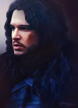 Jon Snow portait