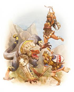 Bronze age fantasy