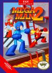 Megaman 2 Remake Box art