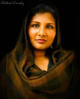 Rukhsaana Bibi - Portrait by TheGlobalVariety