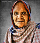 Old Woman II by TheGlobalVariety