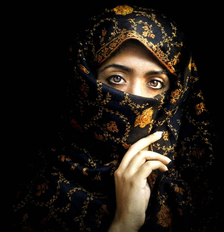 Muslim Woman by TheGlobalVariety