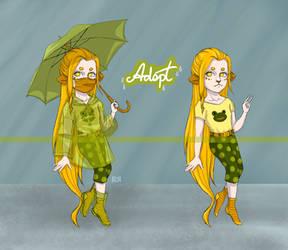 Raincoat Girl Adoptable [CLOSED]