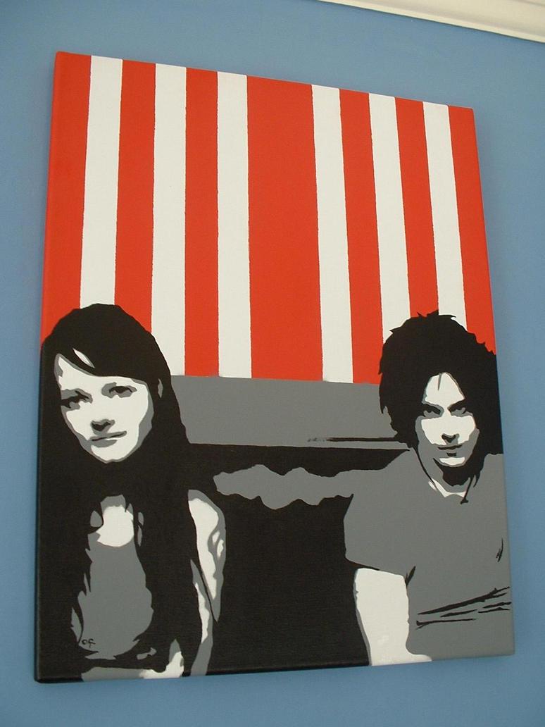 White Stripes by LostProperty
