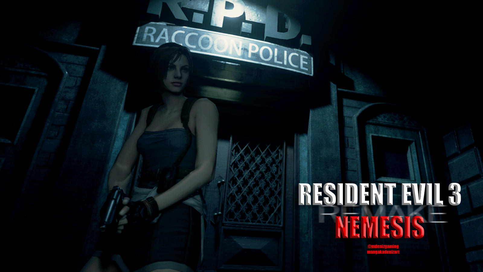 Resident Evil 3 Remake Wallpaper By Me 2 By Lazymanga Ka On