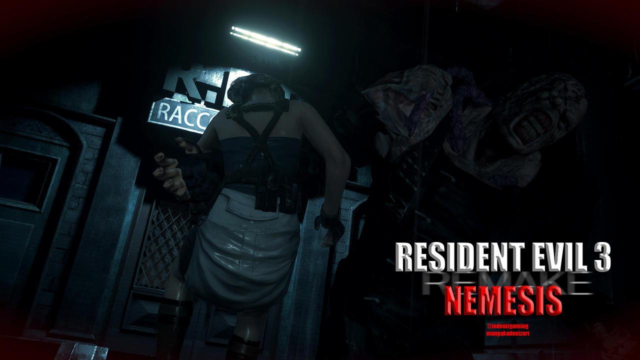 Resident Evil 3 Remake Wallpaper By Me 3 By Lazymanga Ka On