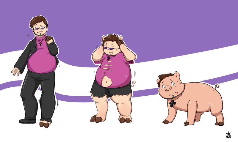 Pig TF [Trade] by Yukibenproject on DeviantArt