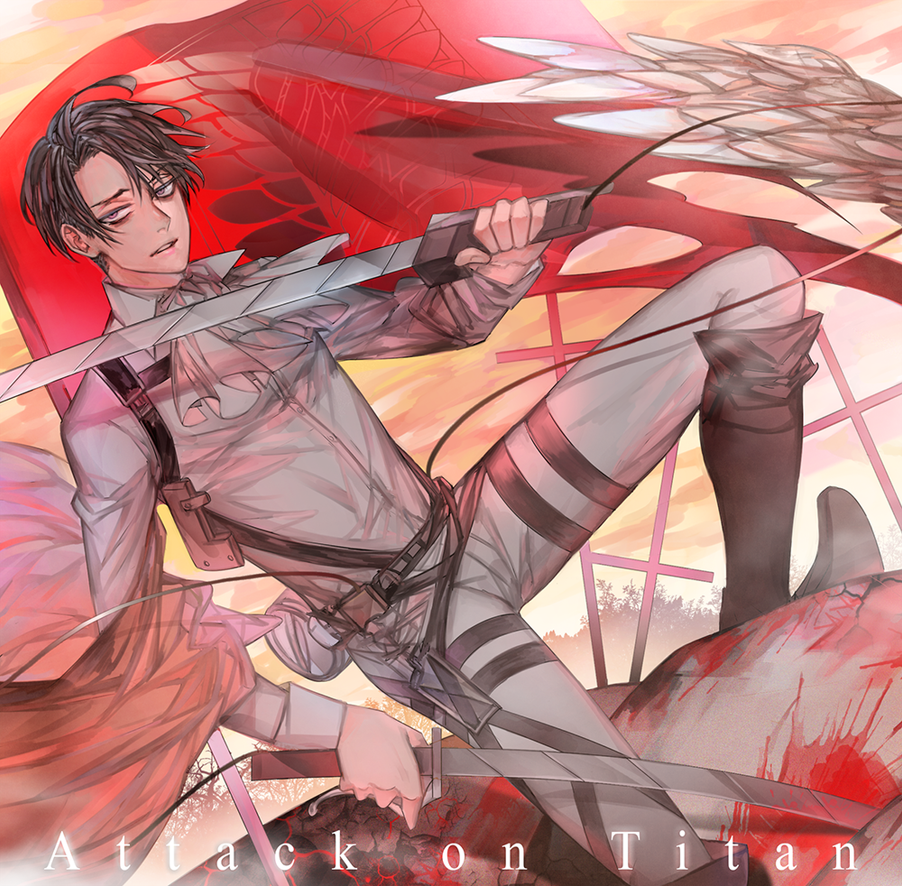 Captain Levi by xearo-tnc