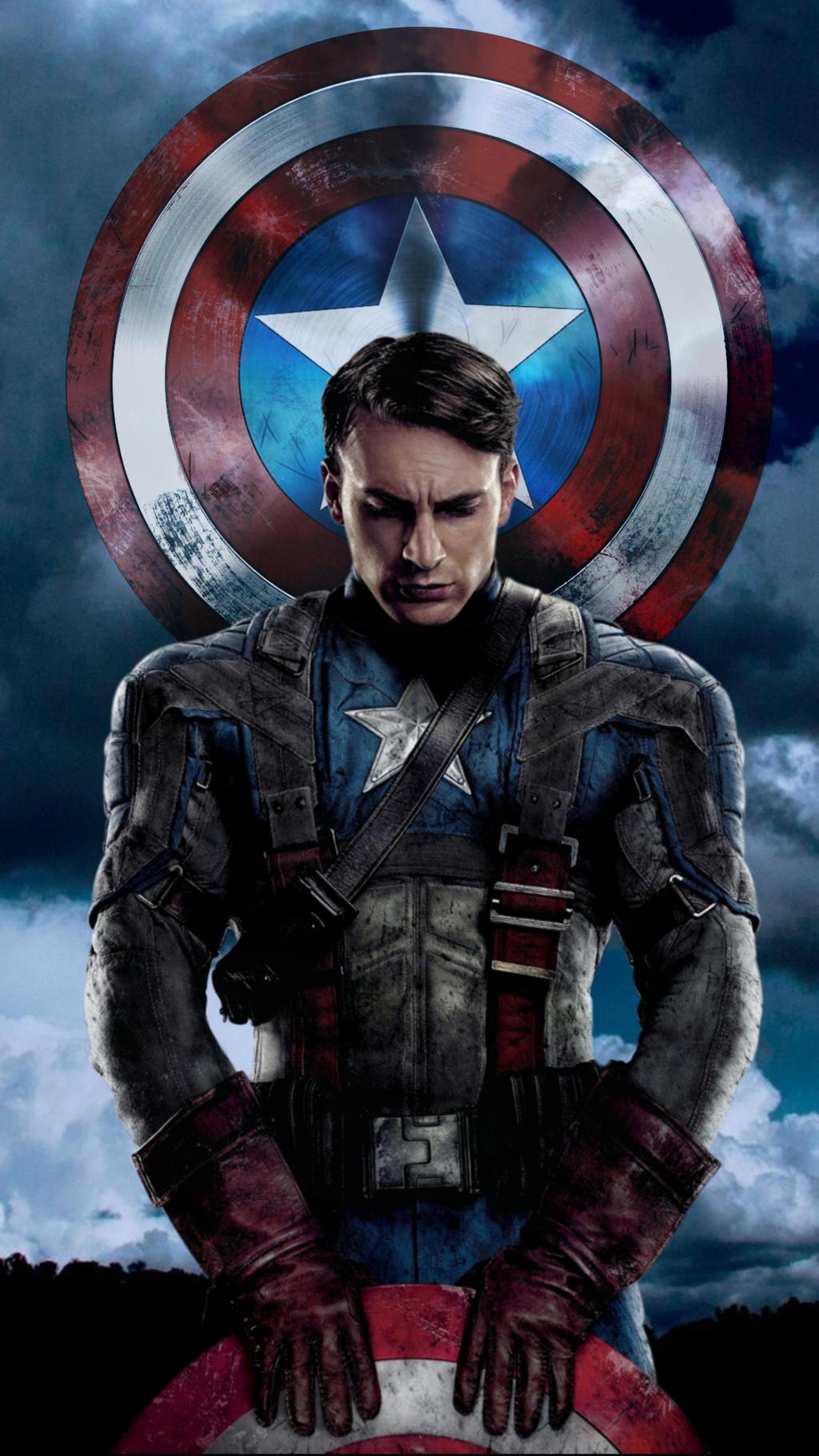 Captain America - Phone Background by DDxxCrew on DeviantArt