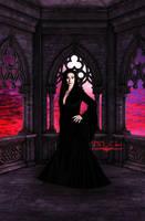 Morticia Addams by DDxxCrew