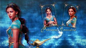 Princess Jasmine   Desktop Wallpaper by DDxxCrew