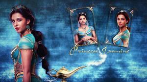 Princess Jasmine   Desktop Wallpaper   Darker Vers by DDxxCrew