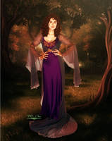 Into The Woods | Morgana from Merlin by DDxxCrew