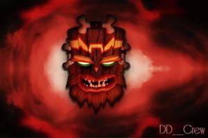 Game Over Screen Uka Uka| Crash Bandicoot 3 Remast by DDxxCrew