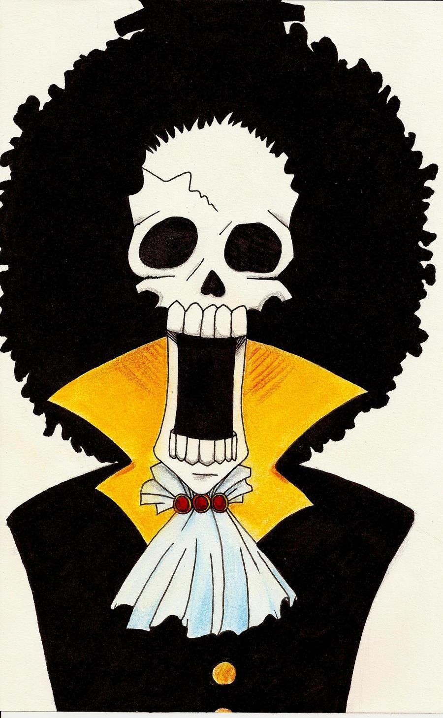 Brook from One Piece by Canardoux on DeviantArt