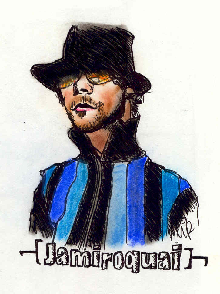 Jamiroquai by olivepencil