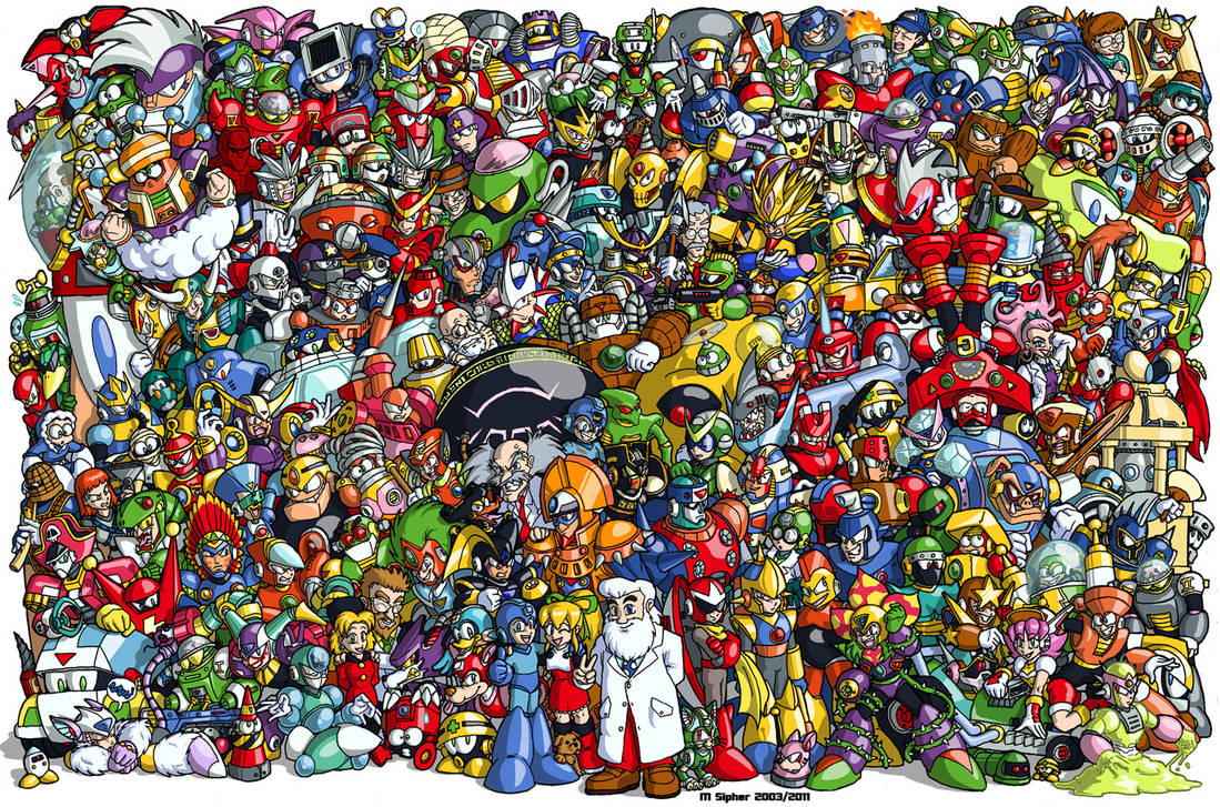 Classic MegaMan - 1987 to 2003