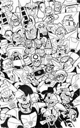 TF Animated: Season 3 'Bots by MSipher