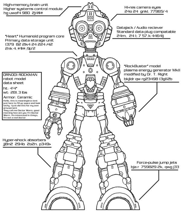 megaman body schematic by msipher on deviantart rh deviantart com body schematic for a 1969 chevelle body schematic of appendix