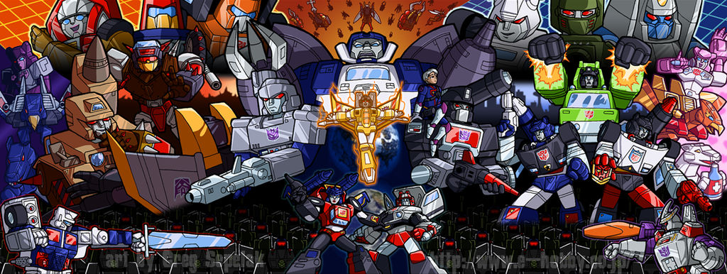 eHOBBY Transformers wallpaper
