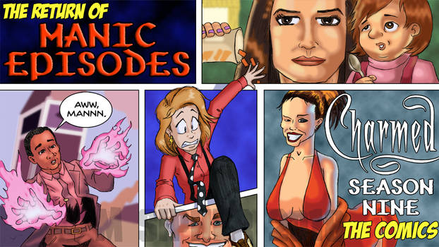 Manic Episodes: Charmed Season Nine Comics
