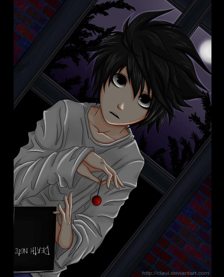 Lawliet Of Deathnote By Claui On DeviantArt