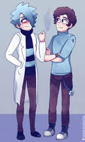 Rick and Morty.- Adult Morty