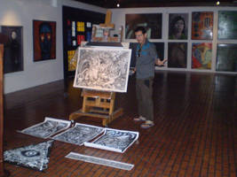 Me with my works