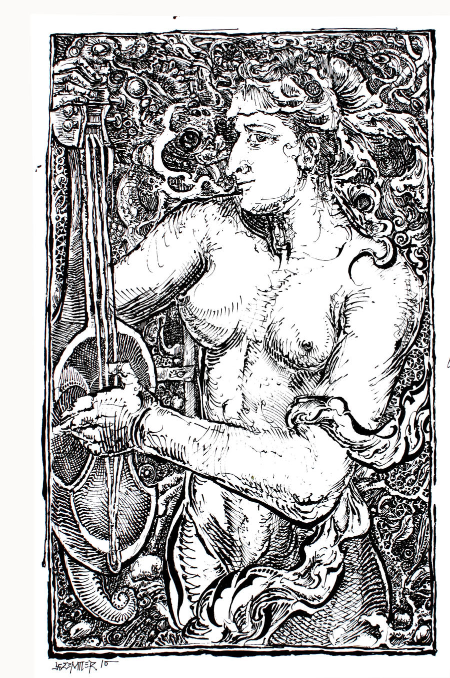 Calypso's Orphic Hymn by gromyko