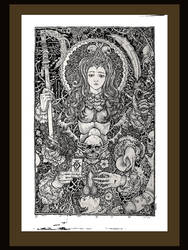 The spectres of Kali by gromyko