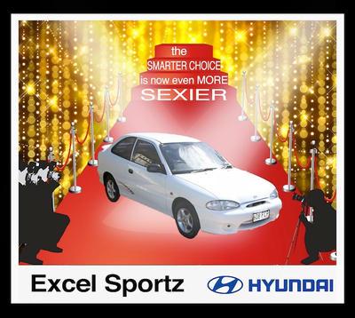 Hyundai excel by ymosi