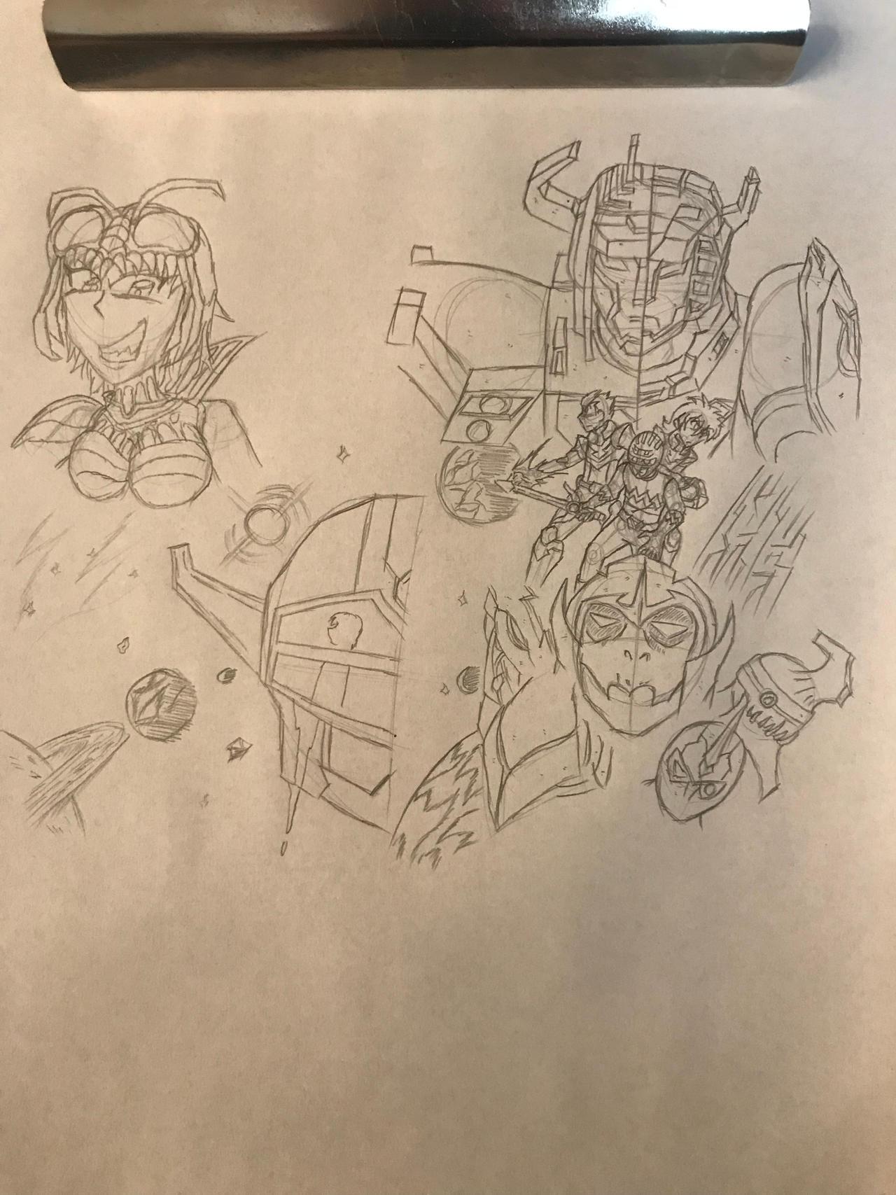 Gingaman x Voltron Legendary Defender S1