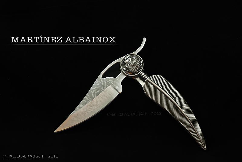 MARTINEZ ALBAINOX - KNIFE by KHALID91