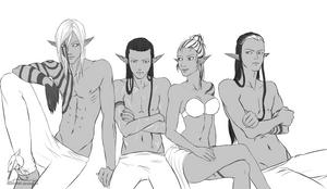 OC - Mai, Lawin, Dyra, Neteliel