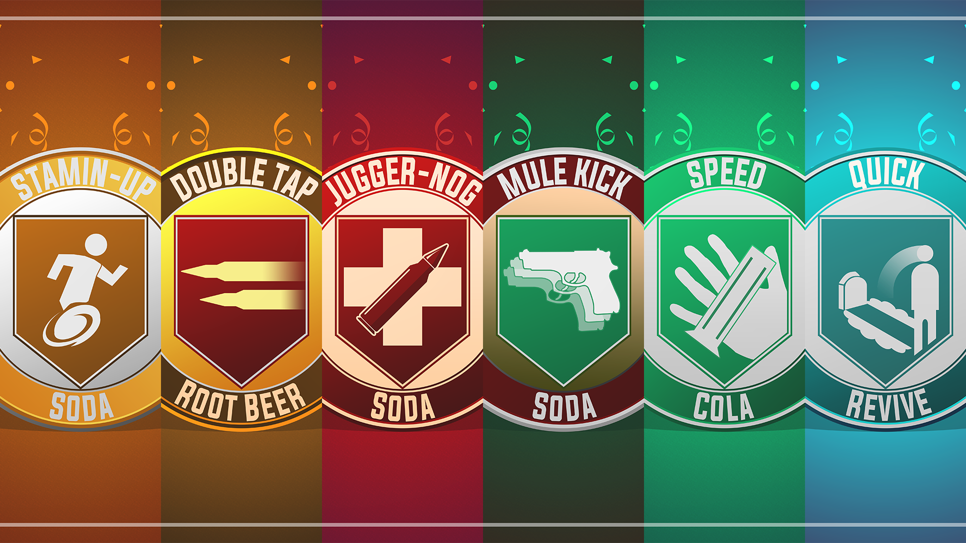 Call Of Duty Perks By Njd Design On Deviantart