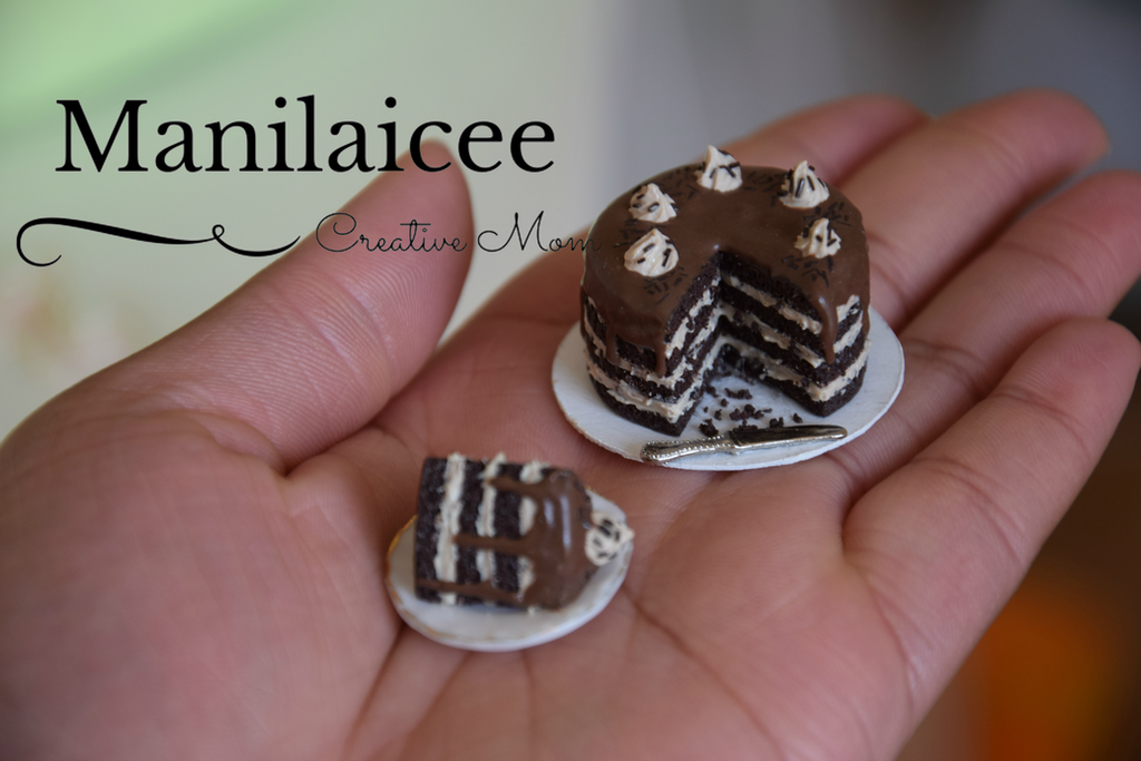 Miniature Chocolate cake by Manilaicee