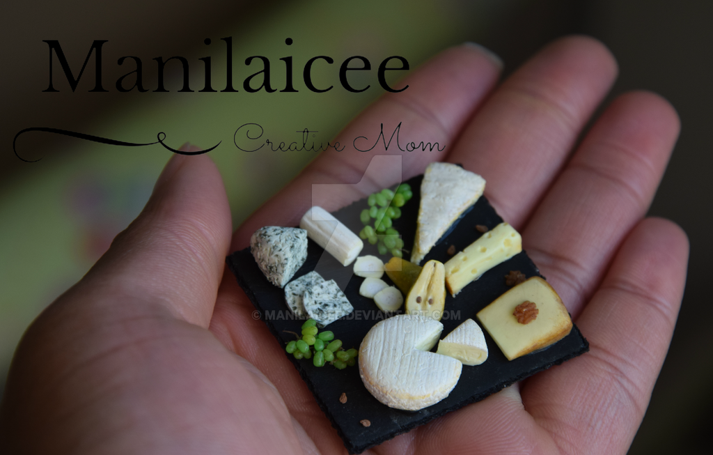 Miniature Cheese Board by Manilaicee