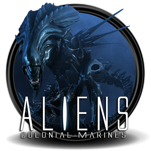 aliens colonial marines icon 2 by sidyseven on deviantart