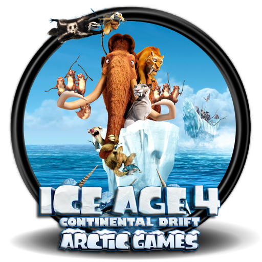 ice age 4 continental drift - arctic games icon by ...