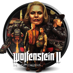Wolfenstein II - The New Colossus png icon by S7 by SidySeven