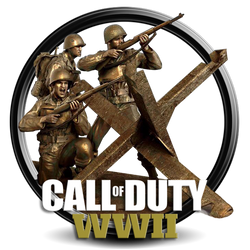 Call Of Duty World War II png icon by S by SidySeven