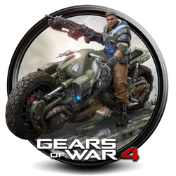 Gears of War 4 png icon by S7