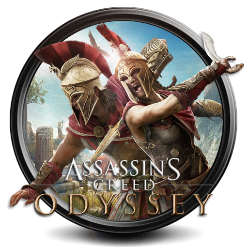Assassin's Creed: Odyssey png icon S7 by SidySeven
